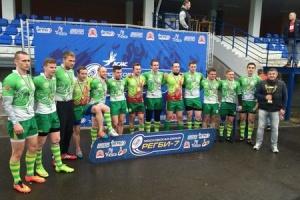 РК «Зеленоград» выиграл первый тур чемпионата Москвы по регби-7