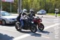 Нарушения мотоциклистов на столичных дорогах будут фиксировать 100 камер