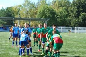 Юные зеленоградские регбисты одержали две победы в третьем туре Первенста Москвы