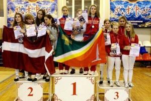 Зеленоградцы привезли победные награды с VIII Международного турнира по фехтованию на саблях