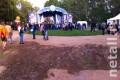 В парке Победы установят «диваны» и восстановят площадку у круглой «клумбы»