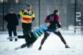В субботу на стадионе СШОР №111 пройдет 4-часовой турнир по снежному регби