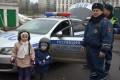Инспекторы ГИБДД Зеленограда познакомили дошколят со специальной техникой